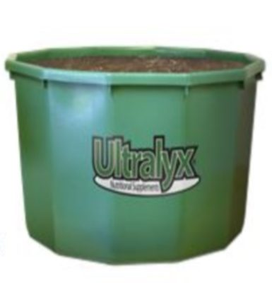 Green Ultralyx compressed protein tub