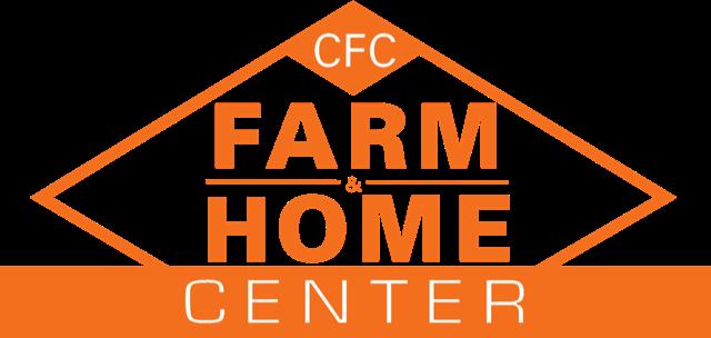 CFC Farm & Home, Orange and White logo. Farm Store in Virginia.