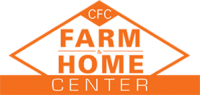 small CFC Farm & Home, Orange and White logo. Farm Store in Virginia.