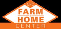 small CFC Farm & Home, Orange and White logo. Farm Store in Virginia.