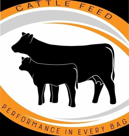 CFC beef cattle feed bag
